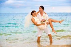 Pares que começ casados Imagem de Stock