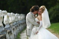 Pares recentemente casados Imagens de Stock