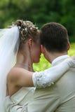 Pares recentemente casados   Foto de Stock
