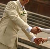 Pares recentemente casados Fotografia de Stock Royalty Free