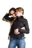 Pares románticos Imagen de archivo libre de regalías