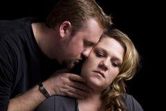 Pares románticos Fotos de archivo