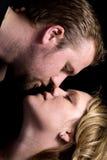 Pares románticos Foto de archivo