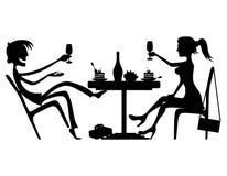Pares románticos libre illustration