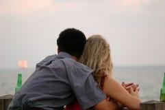 Pares románticos Imagen de archivo