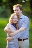 Pares románticos jovenes fotografía de archivo libre de regalías