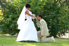 Pares românticos Fotos de Stock Royalty Free