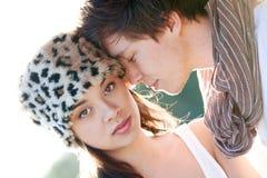 Pares românticos Fotos de Stock