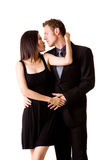 Pares românticos Imagens de Stock