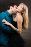 Pares românticos novos imagem de stock