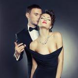 Pares sensuales Foto de archivo libre de regalías