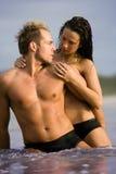 Pares 'sexy' Imagens de Stock