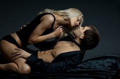 Pares 'sexy' Foto de Stock Royalty Free