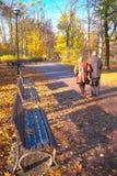 Pares superiores no parque Foto de Stock