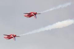 Pares Synchro das setas vermelhas Fotos de Stock Royalty Free