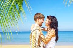 Pares tropicos Imagens de Stock Royalty Free