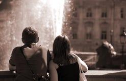 Pares turísticos foto de archivo libre de regalías