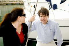Pares Yachting Foto de Stock
