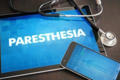 Paresthesia (neurological disorder) diagnosis medical concept on Royalty Free Stock Photos