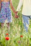 paret hands holdingbarn Royaltyfri Foto