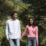 paret hands holdingen Arkivfoton