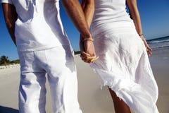paret hands holdingen Royaltyfri Fotografi