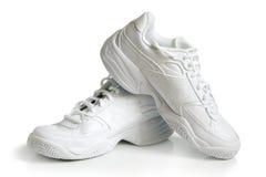paret shoes sporten Royaltyfria Bilder