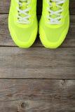 paret shoes sporten Arkivfoton