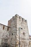Parete 01 della città di Costantinopoli Fotografia Stock