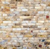 Parete alla torre di Qutub Minar Fotografie Stock Libere da Diritti