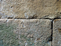 Parete antica della cittadella, struttura Fotografie Stock Libere da Diritti