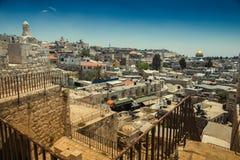 Parete antica a Gerusalemme Fotografie Stock