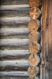 Parete armata in legno Fotografie Stock