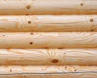 Parete armata in legno di legno Fotografie Stock Libere da Diritti
