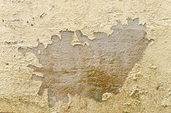 Parete arrugginita del cemento di lerciume per l'utente del fondo Fotografie Stock Libere da Diritti