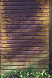 Parete arrugginita del metallo Fotografia Stock Libera da Diritti
