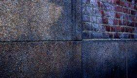 Parete astratta dell'annata nella scena urbana Fotografia Stock Libera da Diritti