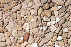 Parete astratta della roccia Fotografie Stock