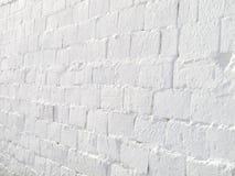 Parete bianca Fotografie Stock