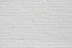 Parete bianca brandnew della costruzione di appartamento Fotografia Stock Libera da Diritti