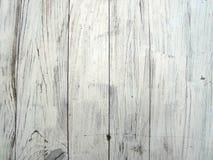 Parete bianca dei bordi La struttura del recinto di legno fotografia stock