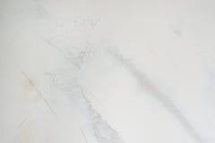 Parete bianca del gesso con struttura di strato dello stucco, fondo Fotografia Stock