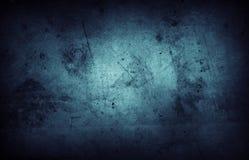 Parete blu Immagine Stock