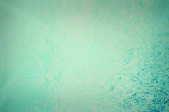 Parete blu di struttura del grunge con le crepe Fotografia Stock Libera da Diritti