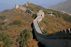 Parete cinese Fotografia Stock Libera da Diritti