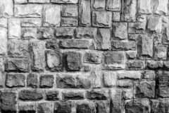 Parete cladded pietra 10 Fotografia Stock Libera da Diritti