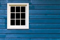 Parete con il blocco per grafici di finestra Fotografia Stock Libera da Diritti