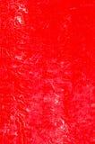 Parete con il fondo stagionato rosso della pittura Fotografia Stock