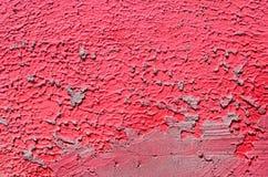 Parete con la pittura rosa porpora variopinta del modello della pittura murale Immagine Stock Libera da Diritti