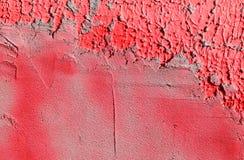 Parete con la pittura rosa variopinta del modello della pittura Fotografia Stock Libera da Diritti